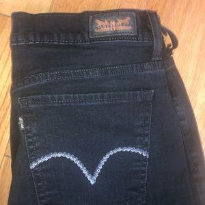 Women's Levi's 512 Denim Blue Jeans Sz 14m